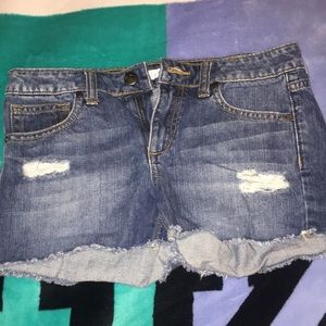 Joe's Jeans Cut Off Denim Shorts